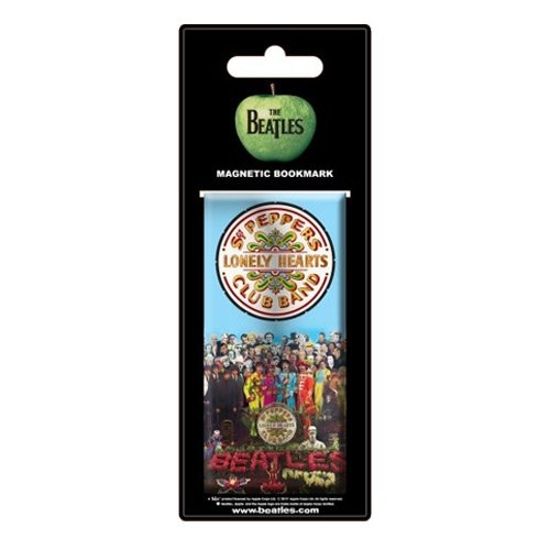The Beatles SGT Pepper Magnetic Bookmark [Import]