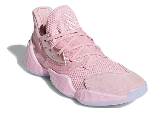 adidas Hombre Harden Vol. 4 Zapatos de Baloncesto Rosado, 47 1/3