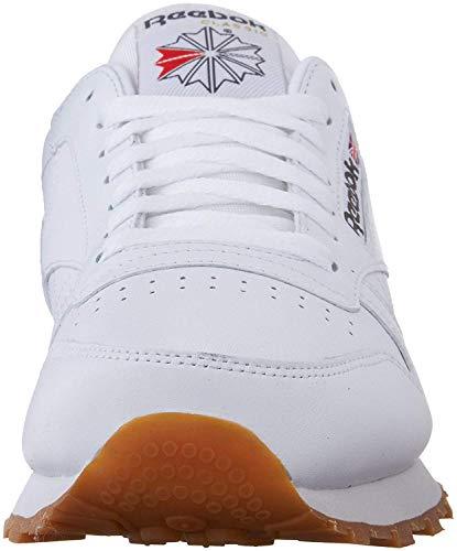 Reebok Men's Classic Leather Fashion Sneaker, US-White/Gum, 11.5 M US