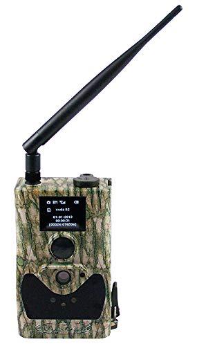 Berger + Schröter Wildkamera LED\'s MMS GPRS 8 MP HD, Tarn, 31484