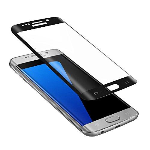 TELLUR Pellicola Protettiva in Vetro Temperato 3D per Samsung S6 Edge Plus, Nero