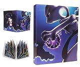 Álbum Compatible con Pokemon, Álbum Titular Compatible con Cartas Pokémon, Carpeta Álbumes Compatible con Cartas Pokemon, 30 Páginas con capacidad para 240 cartas (Mewtwo VS Mew)