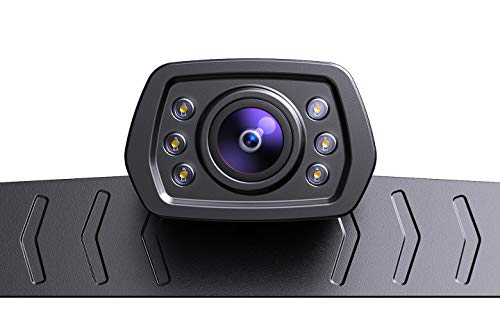 ZEROXCLUB 2021 HD Backup Camera for Car Pickup Trucks SUVs Vans RVs License Plate Rearview Reversing Camera Night Vision IP69 Waterproof Wide View-B01