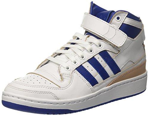 adidas Herren Forum Mid (Wrap) Basketballschuhe, Mehrfarbig (Ftwr White/collegiate Royal/ftwr White), 38 2/3 EU