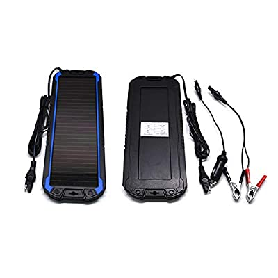 POWEREZ Solar Car Battery Charger 12V Battery Trickle Charger