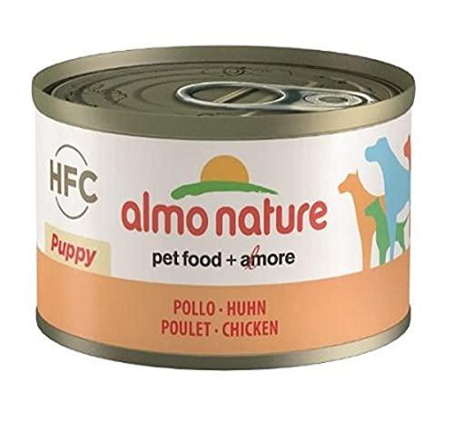 Almo Nature Daily Menu – Aliment Humide pour Chiens Chiots âme Nature Classique Poulet 95 g