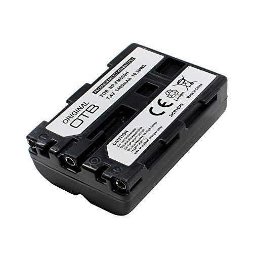Batería para Sony Alpha 900 (DSLR-A900), 1400mAh, substituye: NP-FM500H;