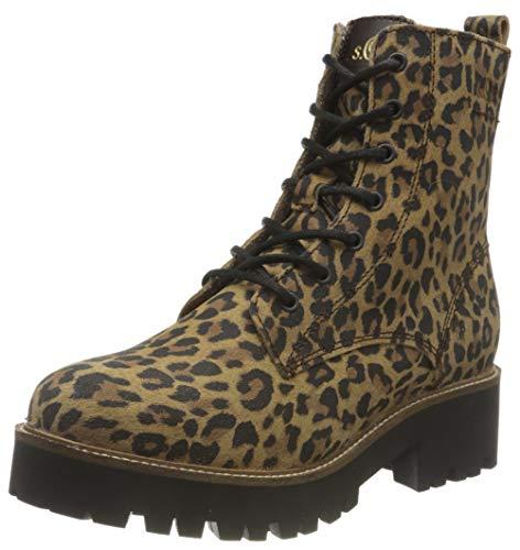 s.Oliver Damen 5-5-26293-35 907 Stiefelette, Leopard, 40 EU