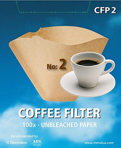 Menalux CFP2 - Filtro desechable para café ( 100 unidades