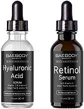 Baebody Hyaluronic Acid Serum & Retinol Serum Bundle
