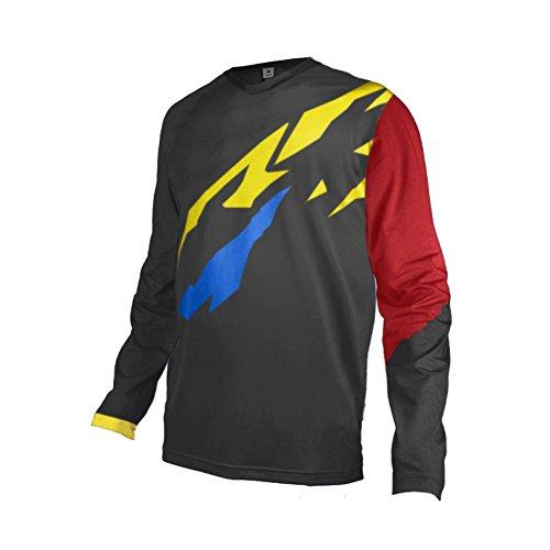 Uglyfrog Downhill Trikot MTB Jersey Motocross Wear Langarm Bequem Atmungsaktiv DHL08