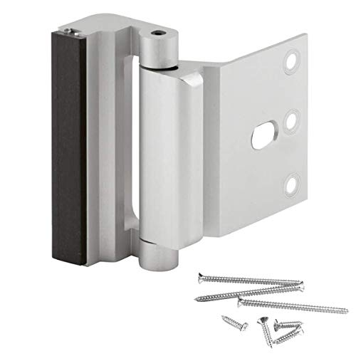 Hossom Home Security Door Lock, Reinforcement Lock, Easy to Install & Use Childproof Door Dead Lock - 12 x Stronger Than a Conventional Dead Bolt