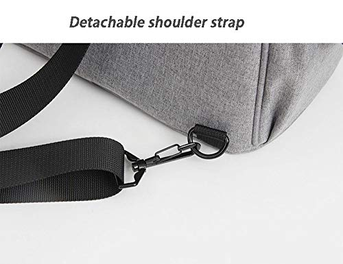 Fashion Thick Multifunctional Lunch Backpack Waterproof Oxford Cloth Picnic Lunch Backpack Environmental Protection Aluminum Foil Back Insulation Bag (Black)