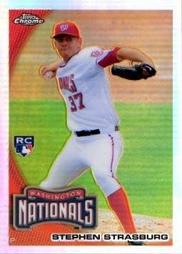 2010 specialty shop Selling rankings Topps Chrome Update Refractor #CHR01 Baseball Stras Stephen
