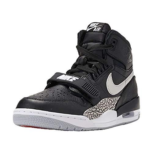 Nike Herren Air Jordan Legacy 312 Fitnessschuhe, Schwarz (Black/White 001), 42 EU