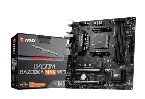 MSI CM B450M Bazooka MAX WiFi (911-7C87-001) *3873