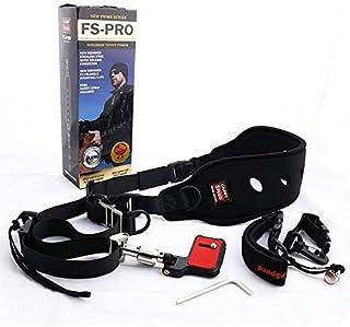 VIBLITZ® Camera Belt Carry Speed FS-PRO for Camera SLR DSLR Black (Black)