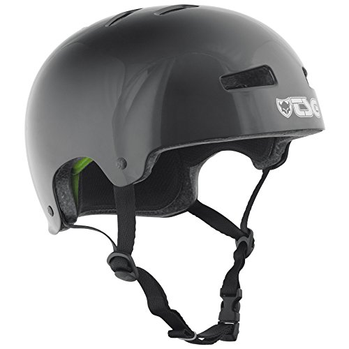 TSG 75046 Casco da ciclismo Evolution Unisex adulto, Nero (Injected-Black), L/XL