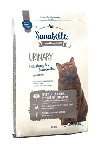 Sanabelle Urinary | Katzentrockenfutter für ausgewachsene Katzen mit empfindlichem Harnsystem | 1 x 10 kg