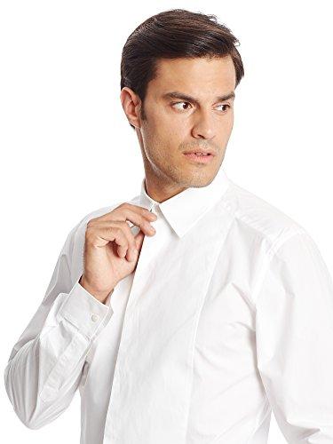 Dolce & Gabbana Camisa Hombre Beige/Blanco L (41 cm /16