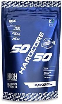 Best Protein 50/50 Hardcore Chocolate - 2500 gr