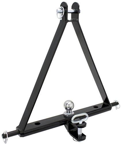 Ackerschiene Dreipunkt-Aufhängung verdrehsicher mit Kugelkopfbolzen und Anhänger-Zugmaul, Kat I, bis 3,5 Tonnen
