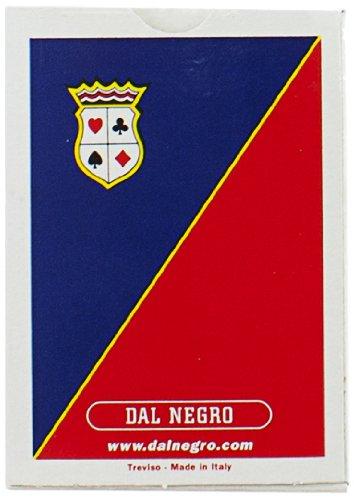 Dal Negro 20003 - Poker Aeroclub Singolo Astuccio Blu, Carte da Gioco