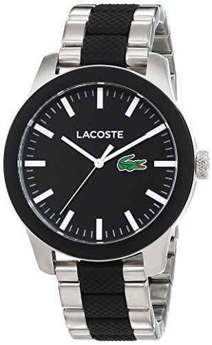 Lacoste Reloj Análogo clásico para Hombre de Cuarzo con Correa en Silicona 2010890