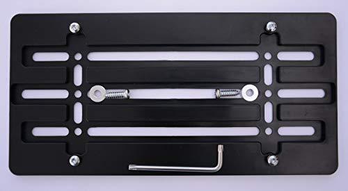 Trunknets Inc License Plate Bracket for BMW SUV Sedan Coupe Models + Hardware Set (Bracket)
