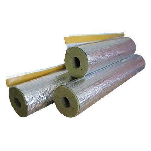 SHT Steinwolle Isolierung Rohrisolierung alukaschiert 20/35, 50% EnEV
