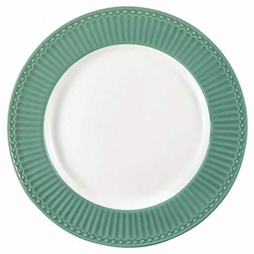 GreenGate- Dinner Plate/Speiseteller - D: ca 26,5 cm -Alice Dusty Green