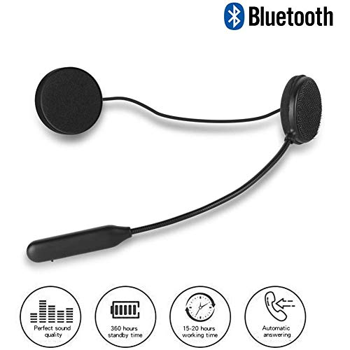 Buy LJHHH Motorcycle Bluetooth Headset,with Clear Voice Capture Technology Bluetooth Earbuds Noise I...