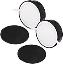 LV-H132 H13 HEPA Air Filter Replacement Filter 2 Pack 3-in-1 Pre Compatible with LEVOIT LV-H132 Air Purifier, Part Number # LV-H132-RF