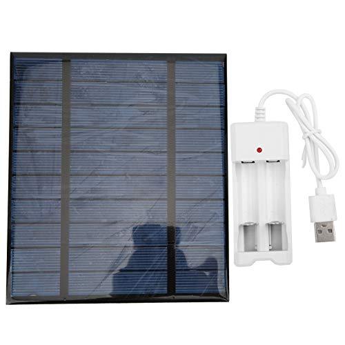 Solare Pannello, Leggero Solare Caricabatterie 5 V. con Singolo Cristallo Silicio 0.-0.5A.