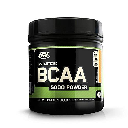 BCAA 5000 Powder - Laranja 380g - Optimum Nutrition, Optimum Nutrition