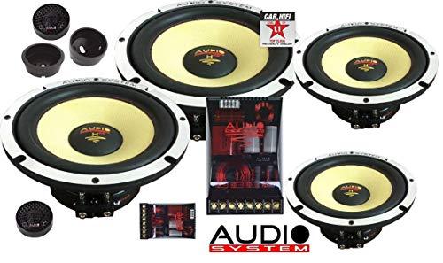 Audio System H 165 EVO 2-4 Helon Series 2-OHM 16,5cm Doppelkomposystem EXTREM KICKBASS Lautsprecher