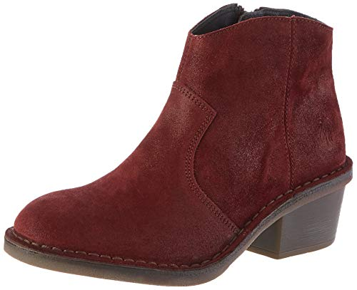 Fly London Damen DARI970FLY Stiefeletten, rote Beere 009, 39 EU