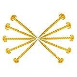 Tzt - Picchetti per tenda, 25 cm, 10 pezzi