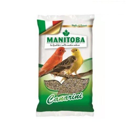 Futtermischung für Kanarienvögel 1 kg Futter mit Samen und Manitoba-Keks