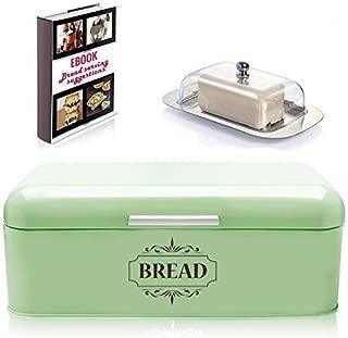 Best bread box green Reviews