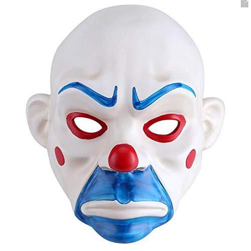 Halloween Costumes Knight Joker Adult Clown Cosplay Purge Face Resin Mask