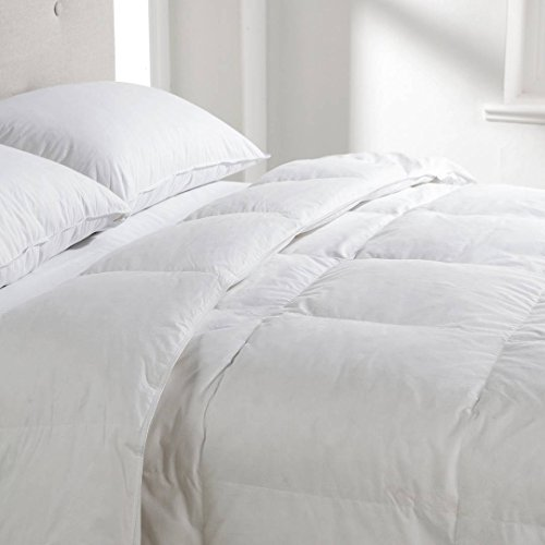 Earlys of Witney White Goose Feather & Down Duvet Quilt - 10.5 Tog Double Size - 100% Cotton Anti Dust Mite & Down Proof Fabric