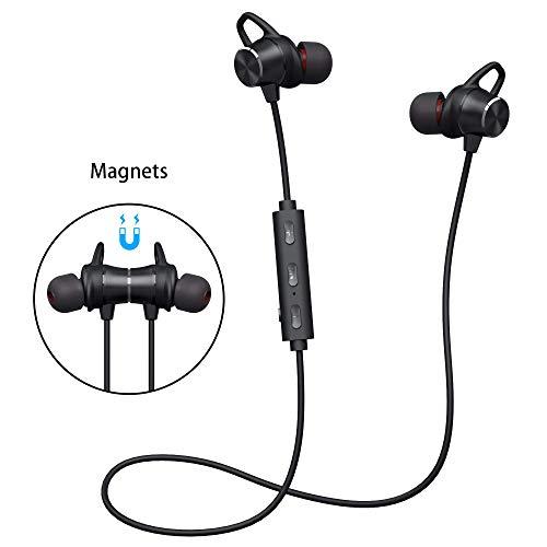 Bluetooth Kopfhörer V4.1 Stereo Sport Kopfhörer In Ear Wireless Ohrhörer Magnetische Headset 8 Stunden Spielzeit für iPhone Samsung Huawei und andere IOS/Android-Smartphones