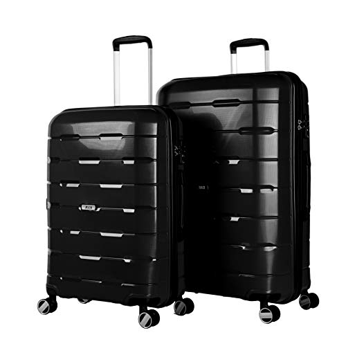 Jaslen , Set di valigie Nero nero