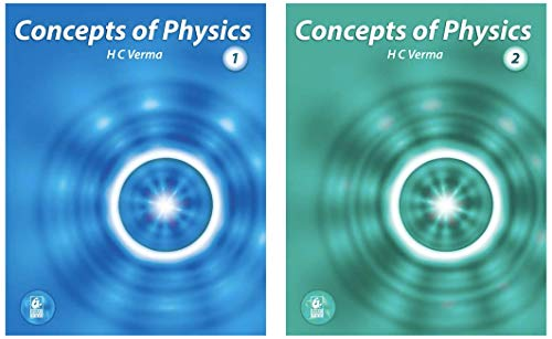 Concept of Physics - Part 1 & 2 2019 - 2020 Session (Set of 2 books)