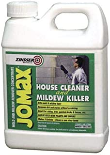 Zinsser 60104 Jomax House Cleaner and Mildew Killer, 1 Quart