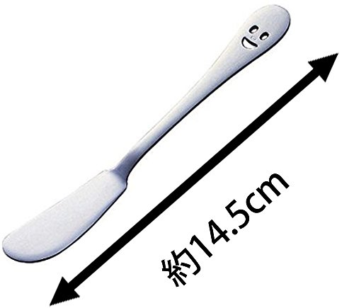 下村企販バターナイフ2本組【日本製】ステンレスマーガリンジャム26974ニコシリーズ燕三条