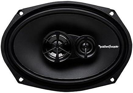Rockford Fosgate R169X3 Prime 6 x 9 Inch 3-Way Full-Range Coaxial Speaker - Set of 2