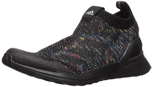 Price comparison product image adidas Unisex-Kid's RapidaRun Laceless,  Black / Shock Cyan / Active red,  7 M US Big Kid
