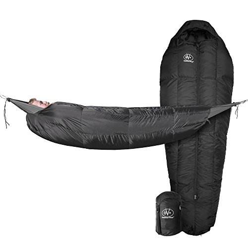 Outdoor Vitals StormLoft MummyPod Down Sleeping Bag for Hammock or Ground Camping